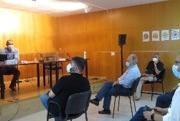 Lluís Inglada en un momnet de la presentació